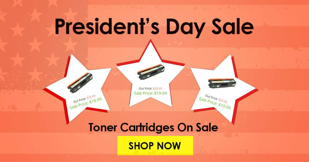 ColorTonerExpert President's Day Sale